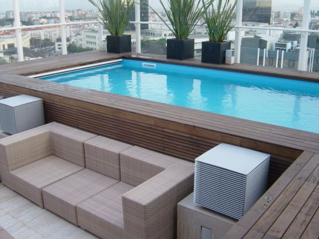 Projeto 18 casas pinterest terra o decora o e for Piscina no terraco e perigoso