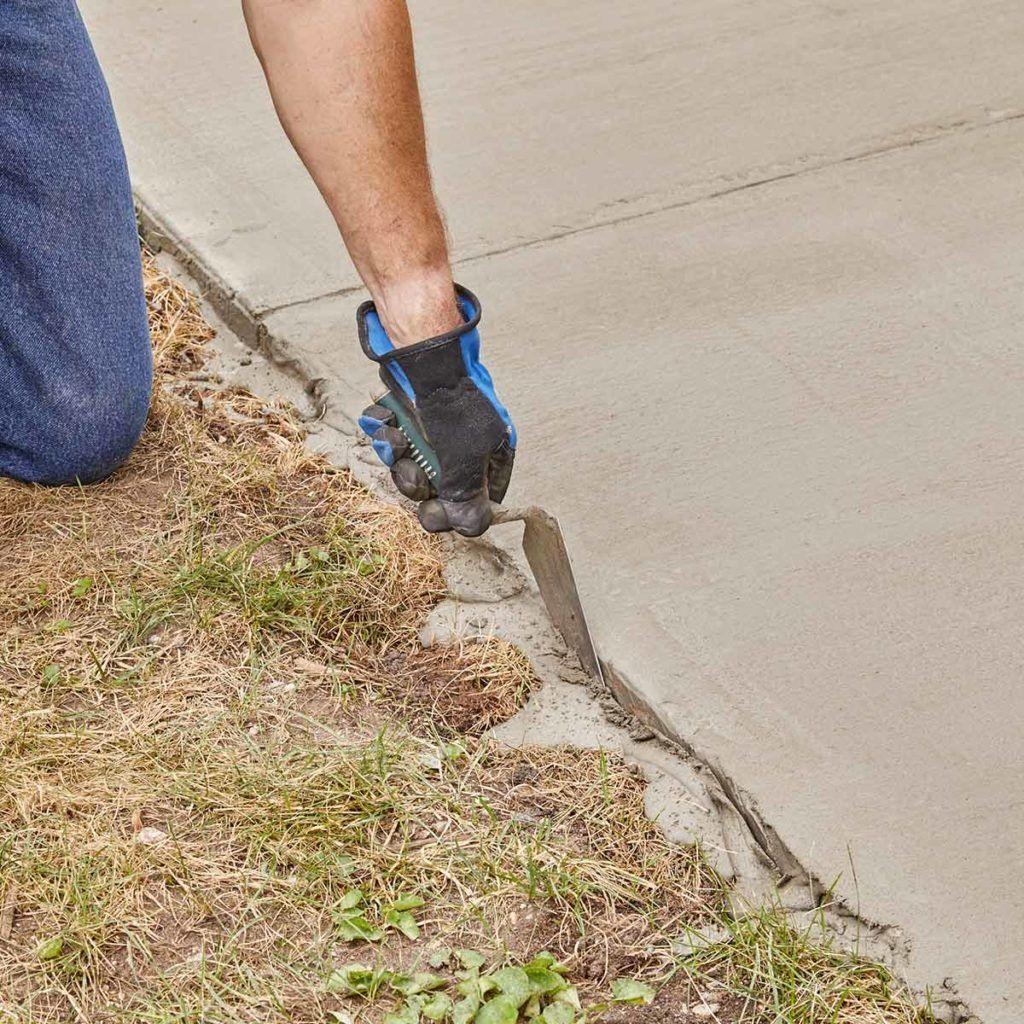 Resurfacing a Sidewalk is Easy to DIY   Concrete ...