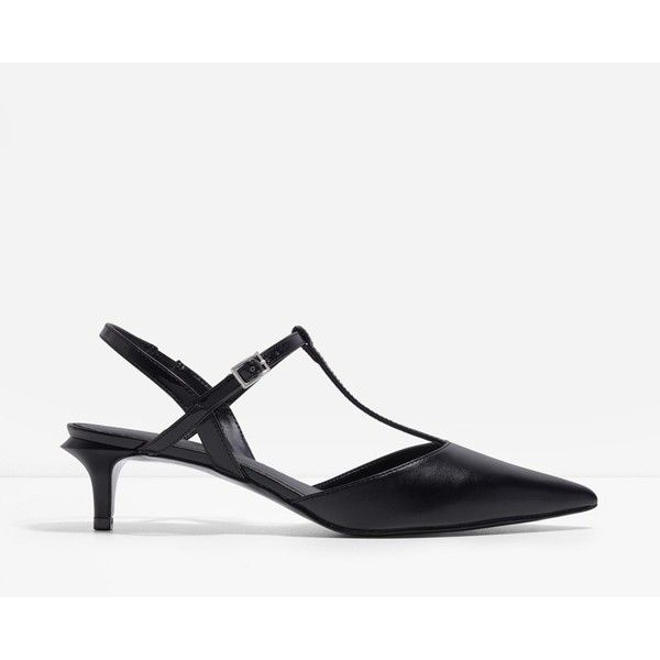 Charles Keith T Bar Kitten Heels 49 Liked On Polyvore