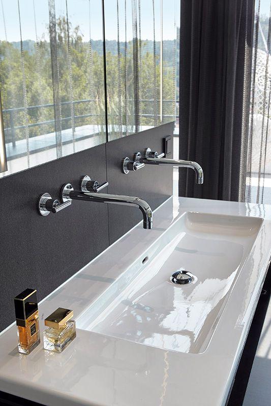 Wohnbad Mit Designanspruch Designanspruch Kaminzimmer Mit Wohnbad Logan Moderne Waschbecken Badezimmerideen Und Waschbecken