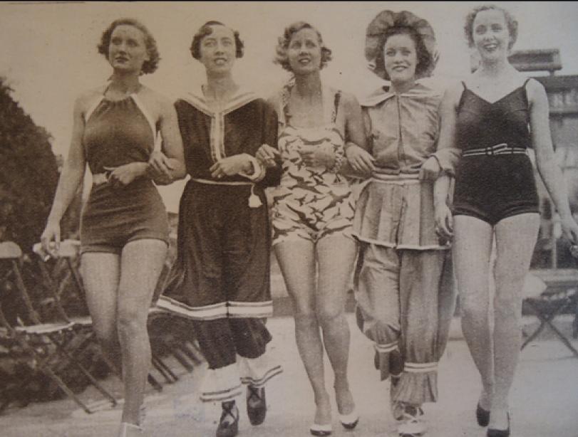 Cluj-Napoca ladies during interwar period. #vintage #sportswear #style #clujnapoca #romania
