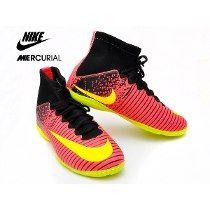 e5129a413cb28 Chuteira Botinha Futsal Nike Mercurial Superfly Fg Cr7