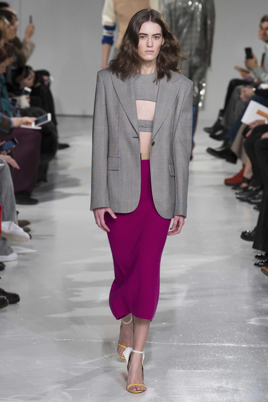 Lea Issarni - Calvin Klein Fall 2017 Ready-to-Wear