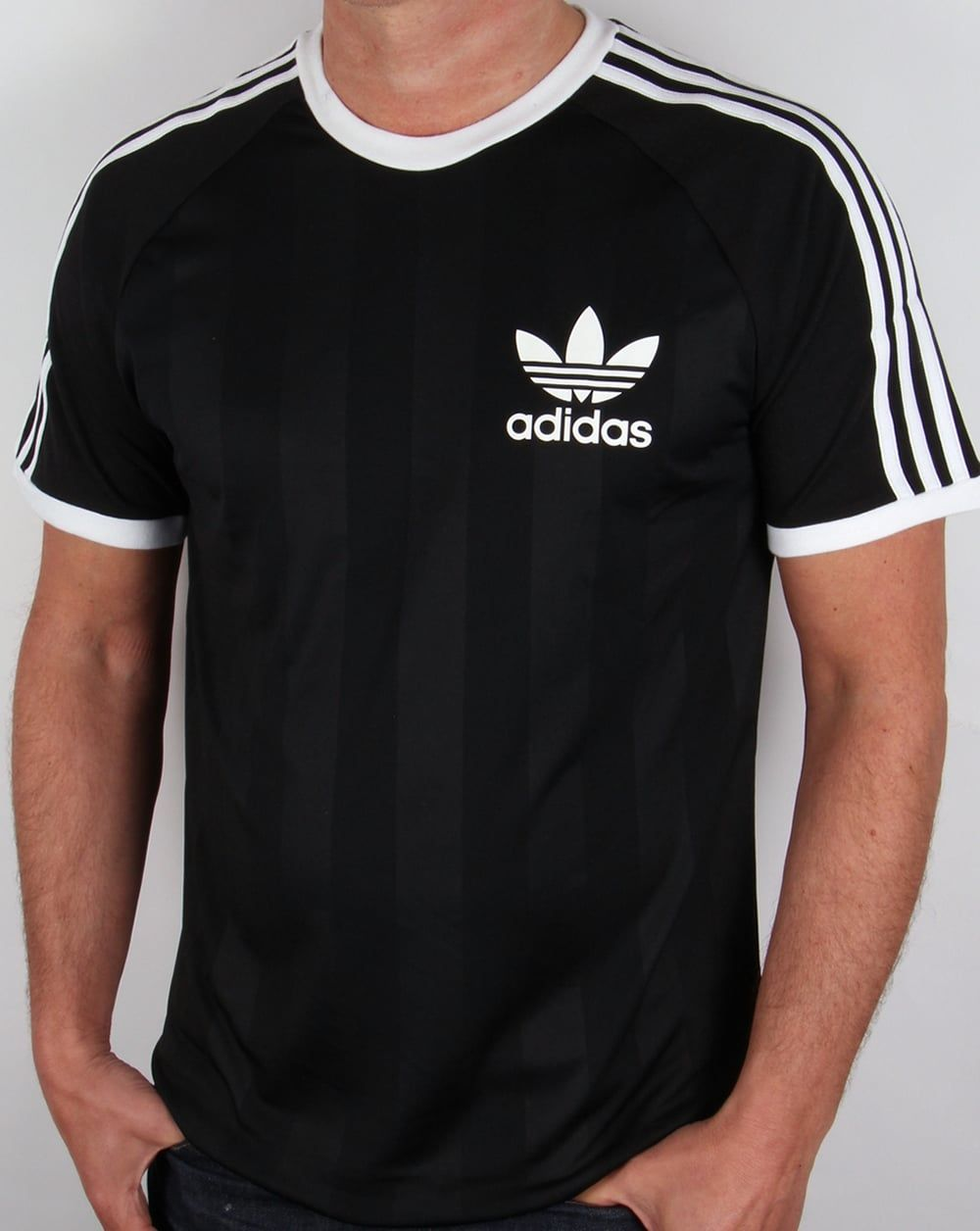 black adidas t shirt