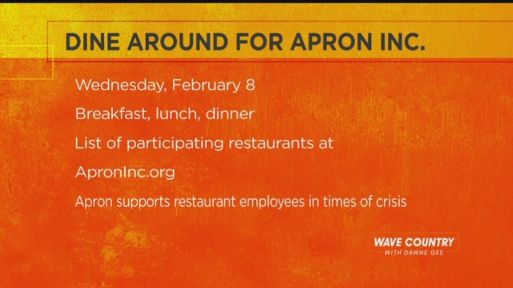 Chef Dallas promotes Apron Inc. Fundraiser and makes Beet and Carrot Salad