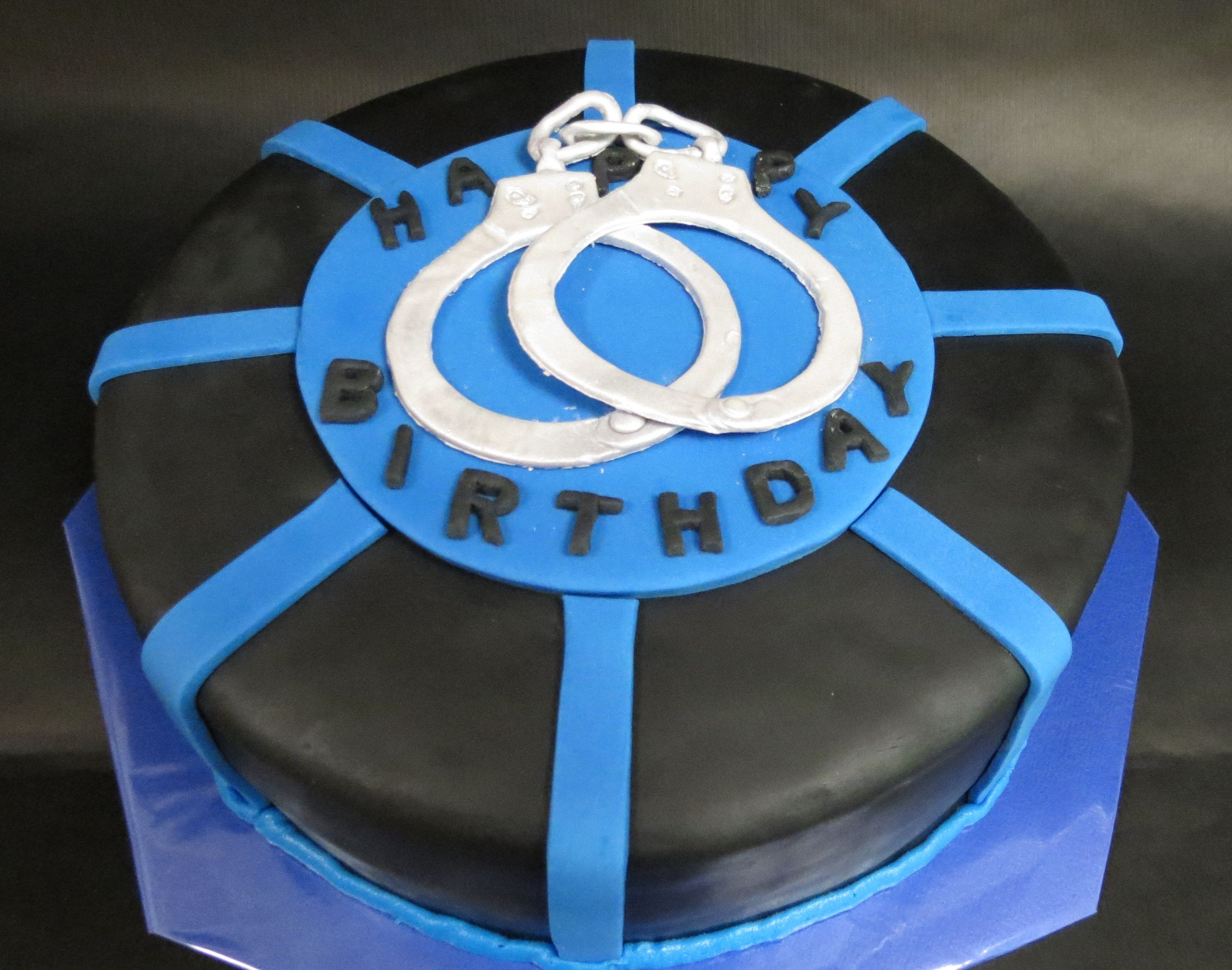 Thin Blue Line Cake Marias Creative Cakes Pinterest Thin Blue