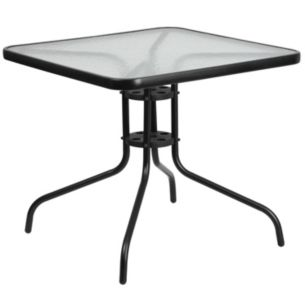 31 5 square tempered glass metal table in 2019 products glass rh pinterest com