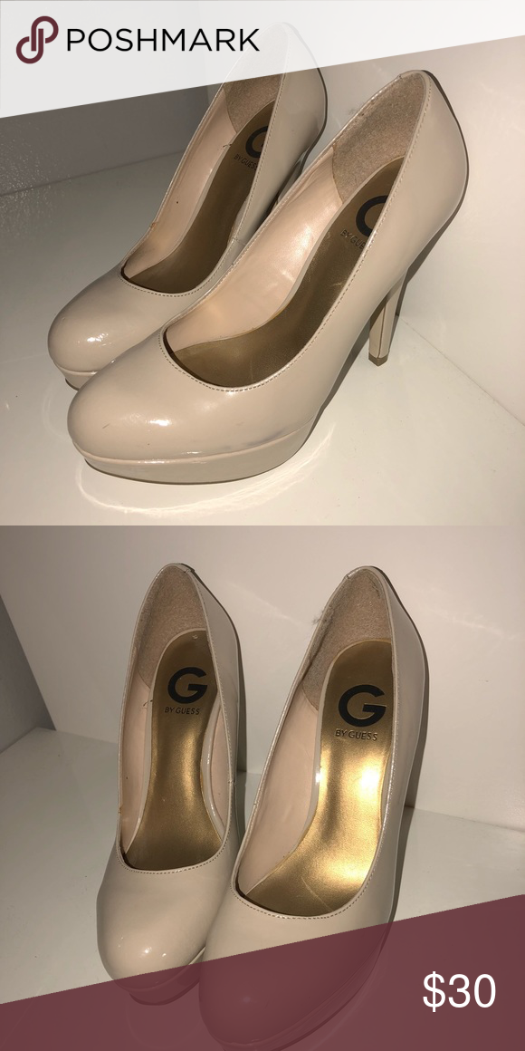 1b137a08c8b Guess nude platform heels Everyday nude heels G by Guess Shoes Heels ...