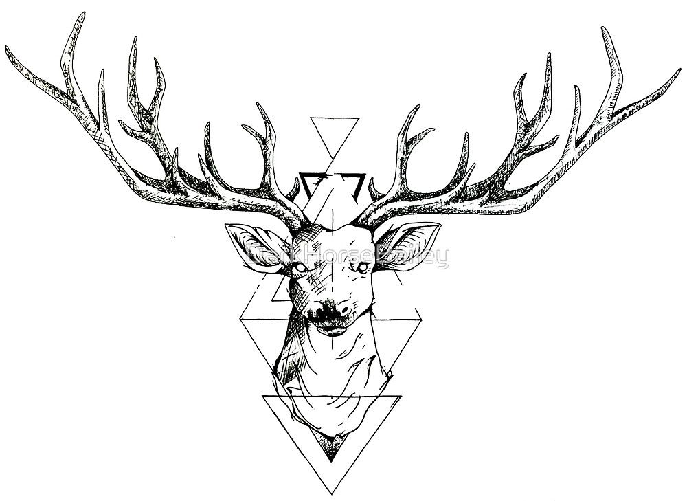Line Drawing Animal Tattoos : Upper forearm above tress just below elbow body art