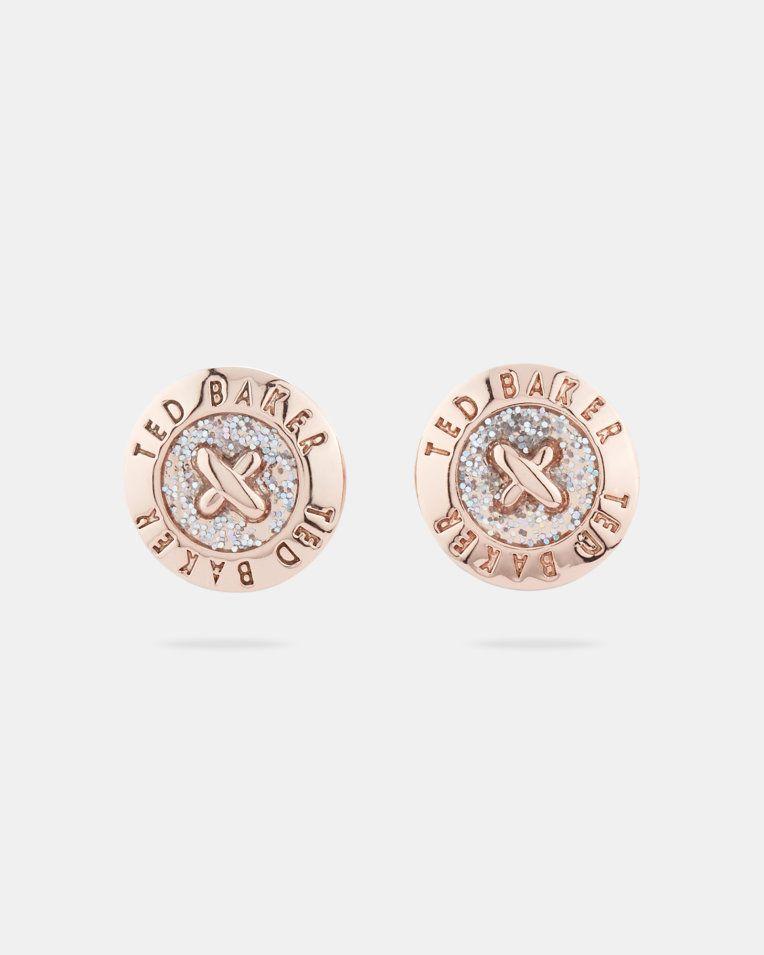 e01cac054 Ted Baker EISLEY Enamel button stud earrings | Goods To Buy ...