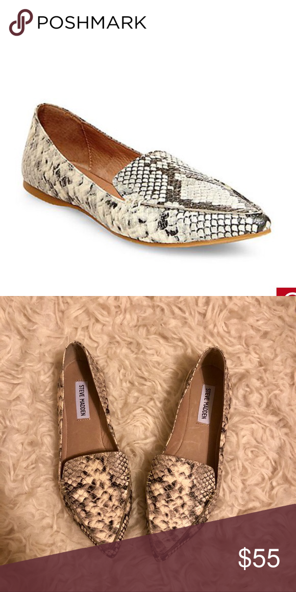 adfb9942da5 Steve Madden Feather Flats Currently sold on Steve maddens website for   69.95. These are basically brand new