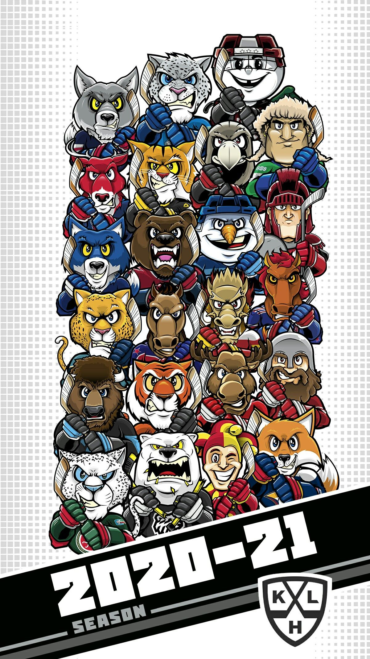 The 2021 KHL Season in 2020 Kontinental hockey league