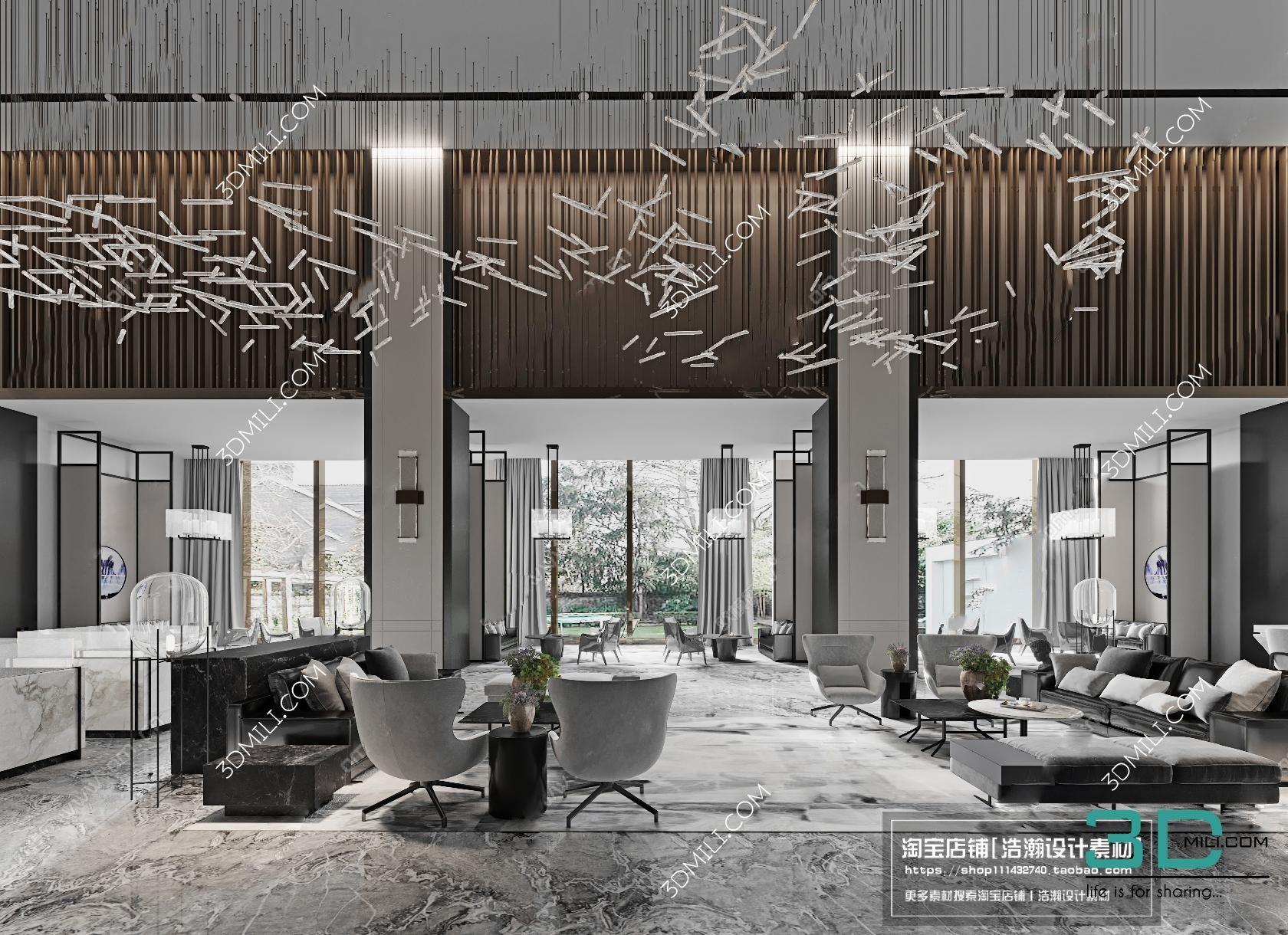 Album Offices Interior Sales Department 2018 - 3dmax - 3D Mili