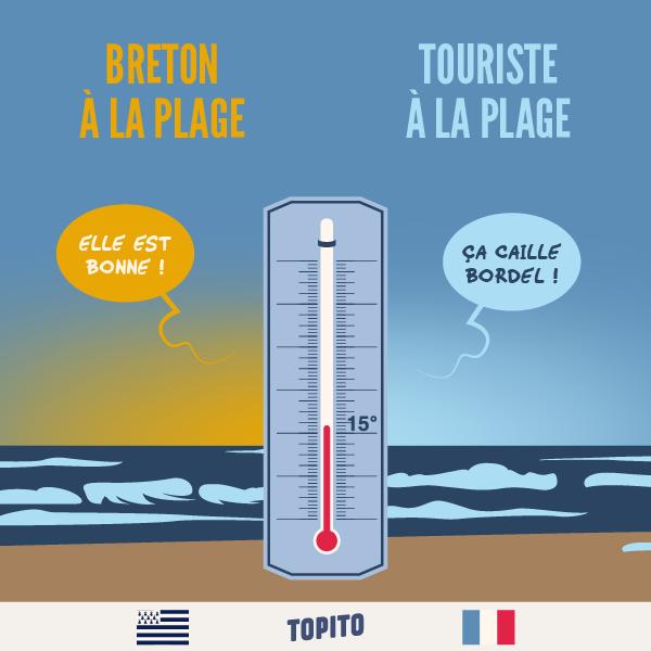 Top 16 des illustrations « Bretagne VS France », le grand clash en images   Humour bretagne ...