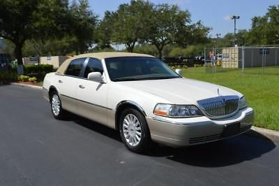 2005 Lincoln Town Car Signature Us Salvage Autos Pinterest