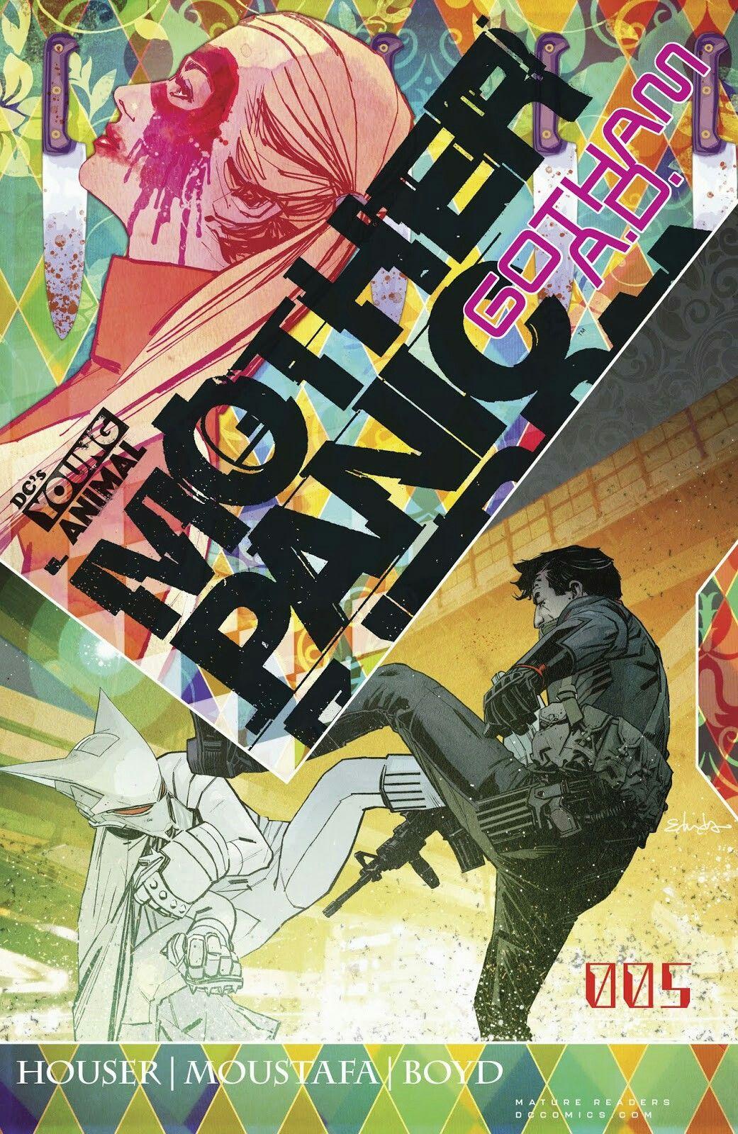 Pin by Michael Iori Aycardo on Young Animal | Comics. Gotham. Comic covers