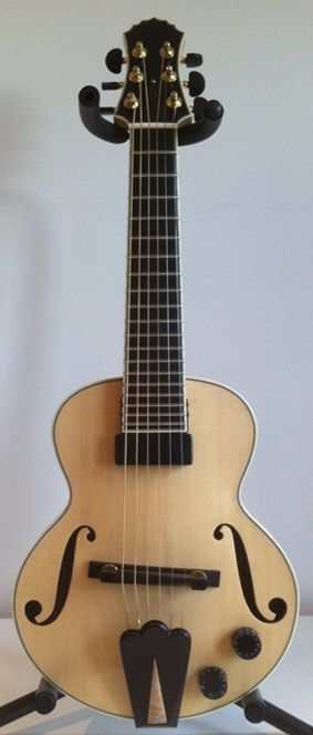 archtop electric soprano guitar music guitar acoustic guitar archtop guitar. Black Bedroom Furniture Sets. Home Design Ideas