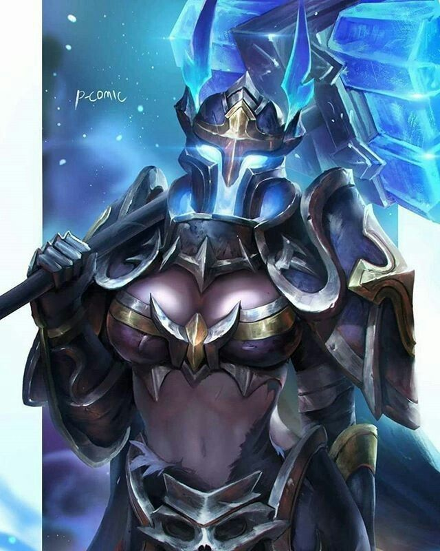 Taara Fan Art Arena Of Valor Blue Anime Mobile Legends Fanart Wallpaper