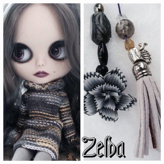 Ooak Custom Blythe Doll Zelda