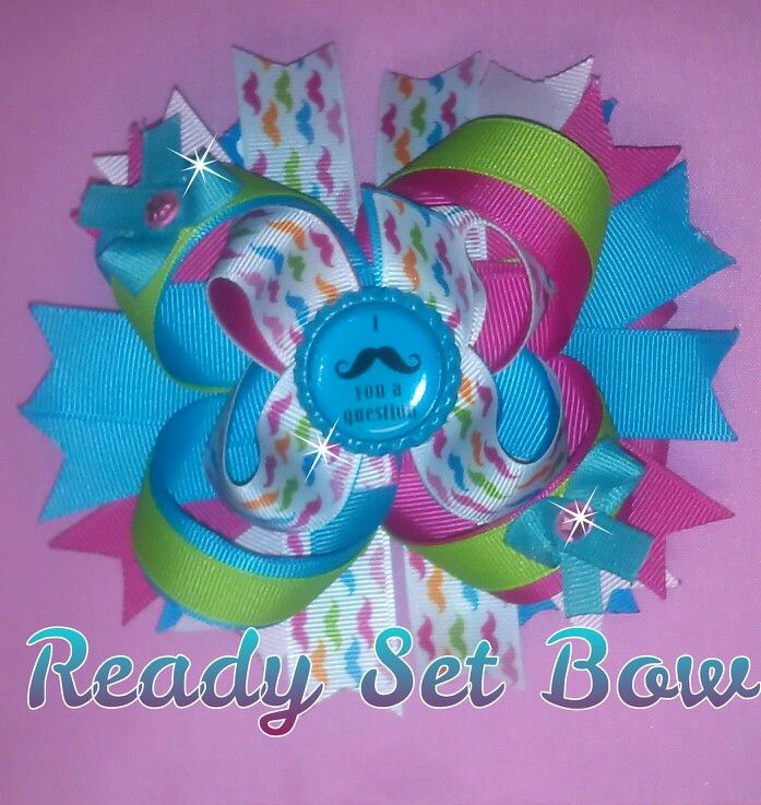 Ott bow check out my page Ready Set Bow on Facebook