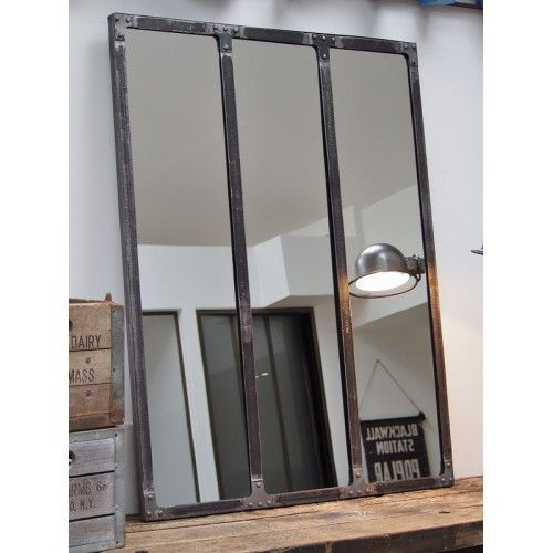 Miroir atelier riveté 120x90 WISH LIST NOVEMBRE