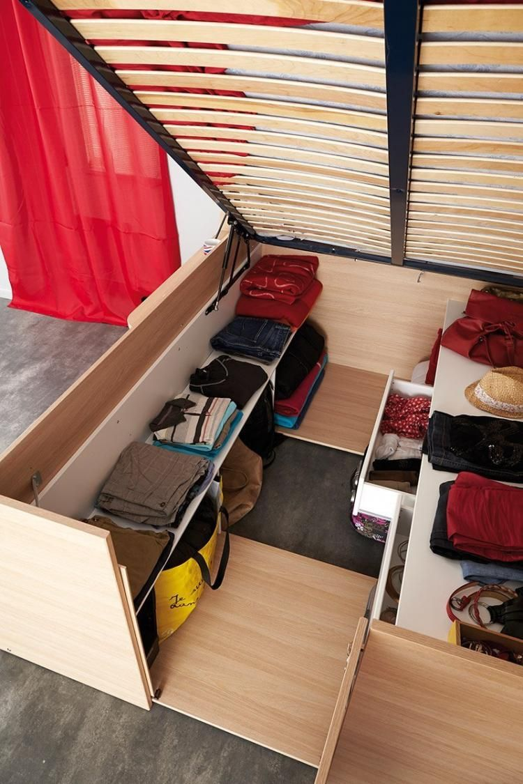 Parisot Space Up Bed A Bed That Doubles As A Closet Bed In