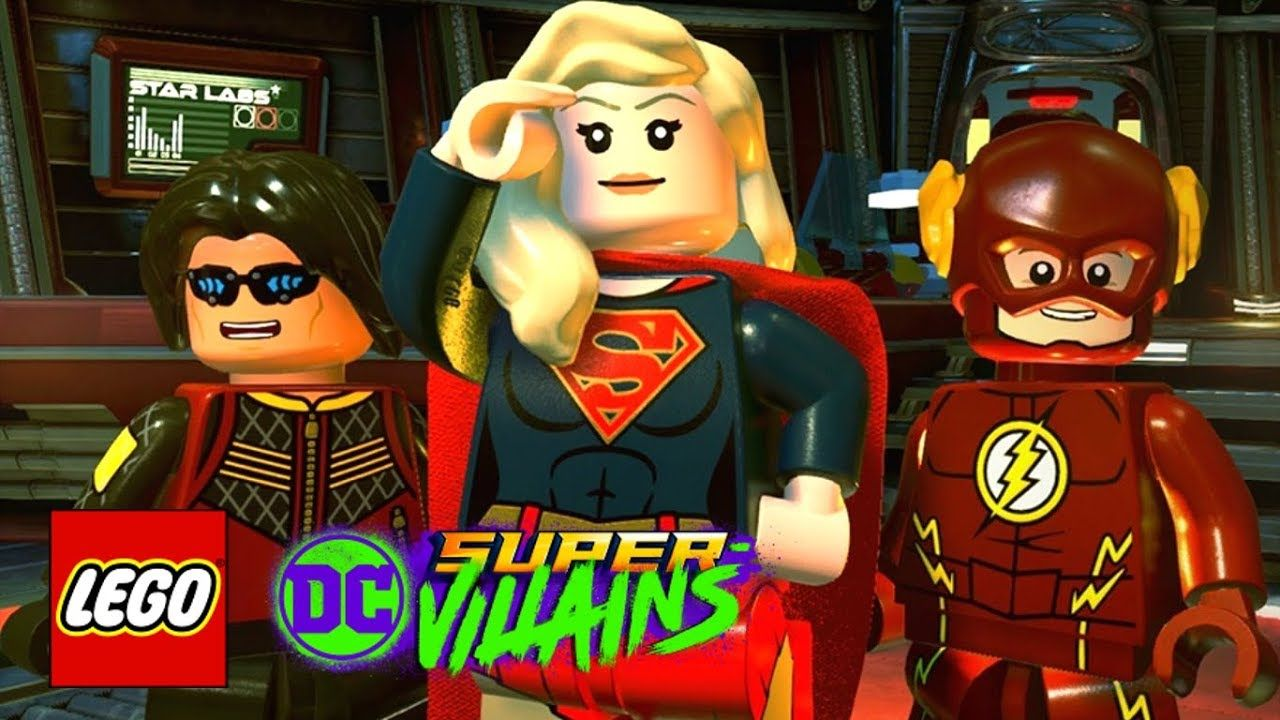 Custom DC Comic Lego Minifigure Supergirl From The CW Show Supergirl New