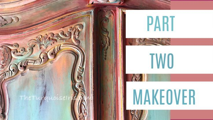 Furniture Makeover with DIY Paint from Debi's Design Diary.