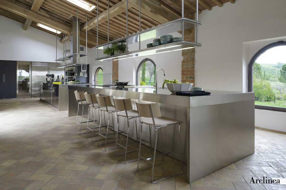 Arc linea 🔝 Open space living, Kitchen