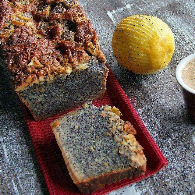 95%poppy seed cake! Wow