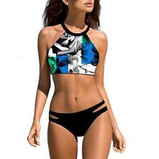 Women Padded Swimwear Bandage Bra Bikini Set Push Up Sexy Swimsuit Bathing Suit