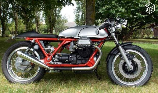 guzzi 850t caf racer motos maine et loire guzzi caferacer moto guzzi. Black Bedroom Furniture Sets. Home Design Ideas