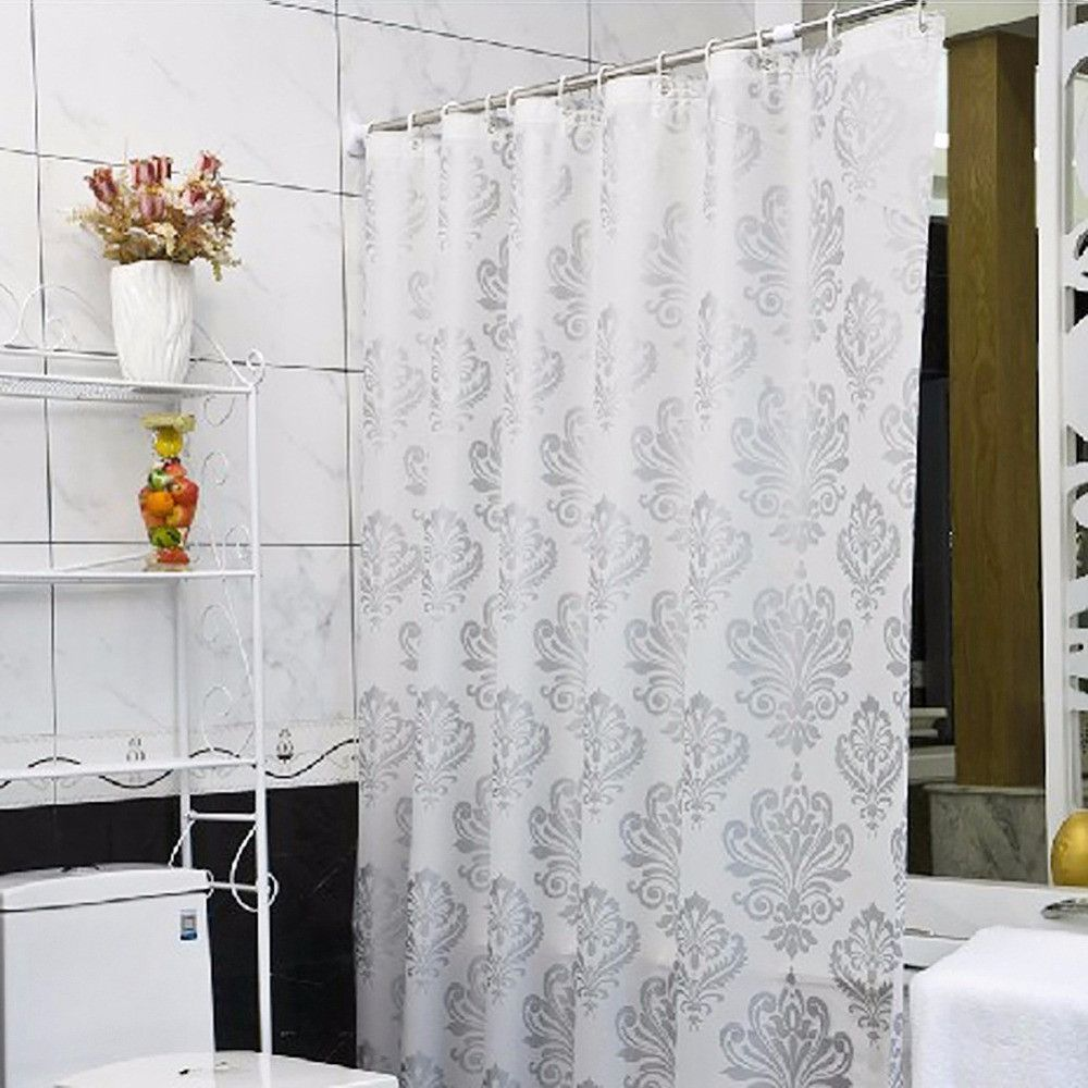 Shower curtain fashion peva padded waterproof bathroom european