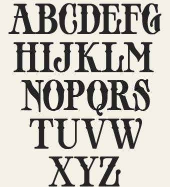 3a72bd096aa Old fashion font