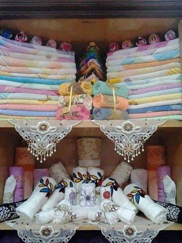 Recycling رصات فوط و ملايات للعرائس وكمان المتجوزين ولا Wedding Gifts Packaging Creative Napkins Diy Crafts