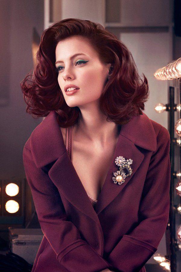mittellange frisuren mit volumen | haarfarben, haarfarbe