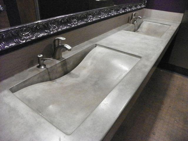 Bathroom Sinks For Restaurants Inspirational Custom Concrete