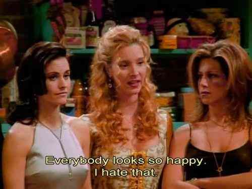 When you're in a bad mood.  #friends #friendsquotes #friendsmemes #memes #quotes Follow us on pinterest: www.pinterest.com/yourtango