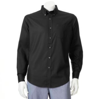 Croft & Barrow  Solid Easy-Care Casual Button-Down Shirt - Men