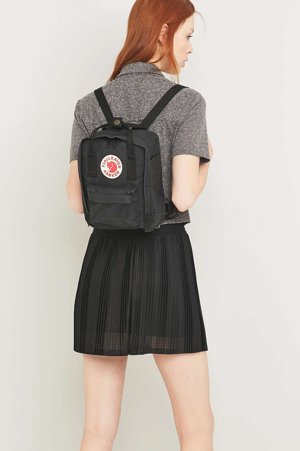 Fjallraven Kanken Classic Mini Black Backpack  90609992ab9e0