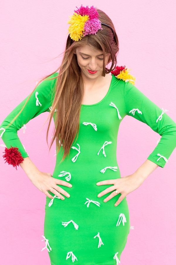 DIY Cactus Costume | Cactus costume, Cacti and Costumes