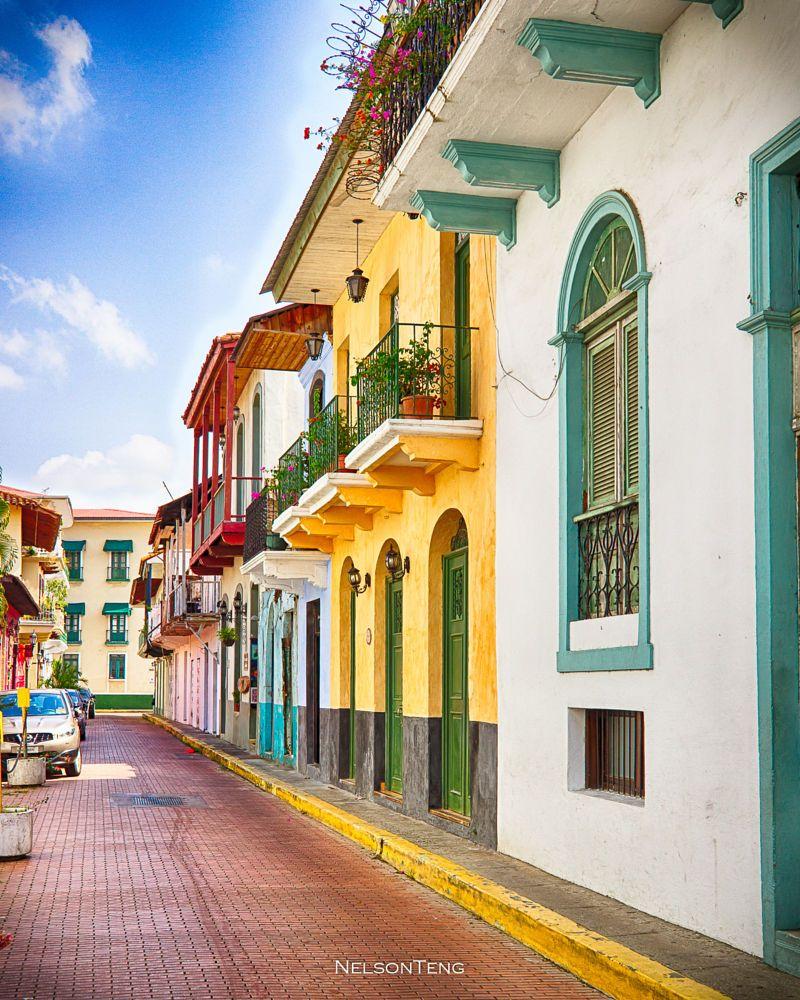 Casco Viejo Street By Nelson Teng On 500px Cascadas Ciudad De Panama Casco Viejo Panama