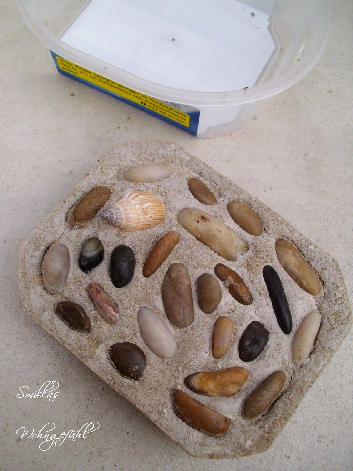 schlicht & schön Seifenschale aus Beton Selbermachen