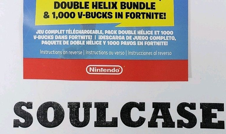 Nintendo Switch Double Helix Fortnite Skin 1000 V Bucks Code Sent By Usps Mail We Sell Fortnite Accounts And Loot Crates Cheap At Coding Double Helix Fortnite