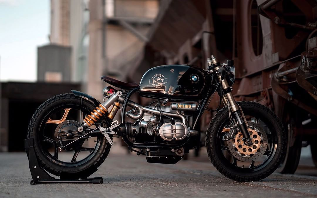 Bmw R100 Rt Cafe Racer Bobber Black Stallion By Nct National