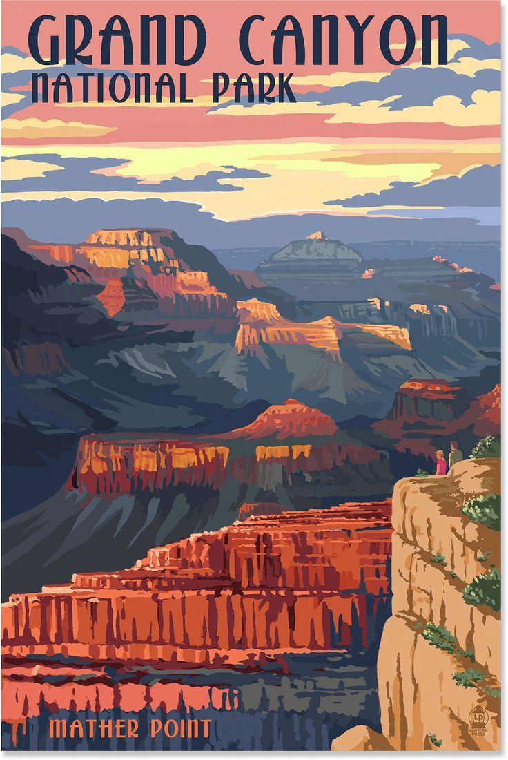 old wpa national park posters grand canyon Google Search