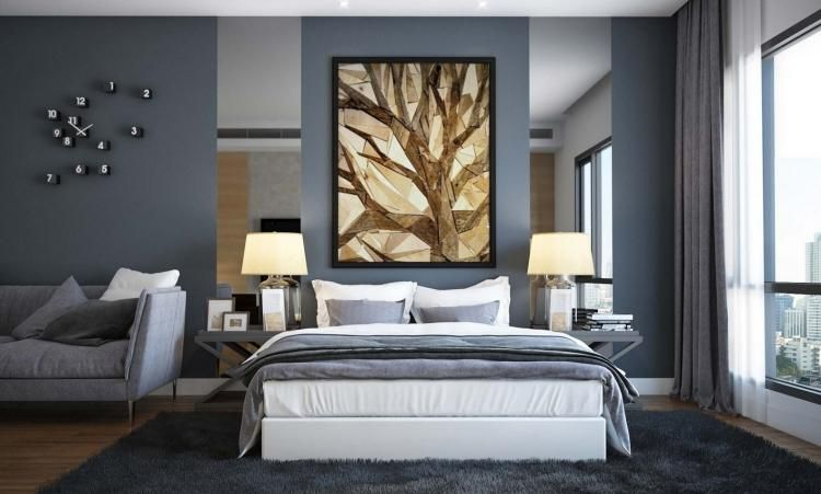 Wandfarbe Grau Kombinieren 55 Deko Ideen Und Tipps Graues