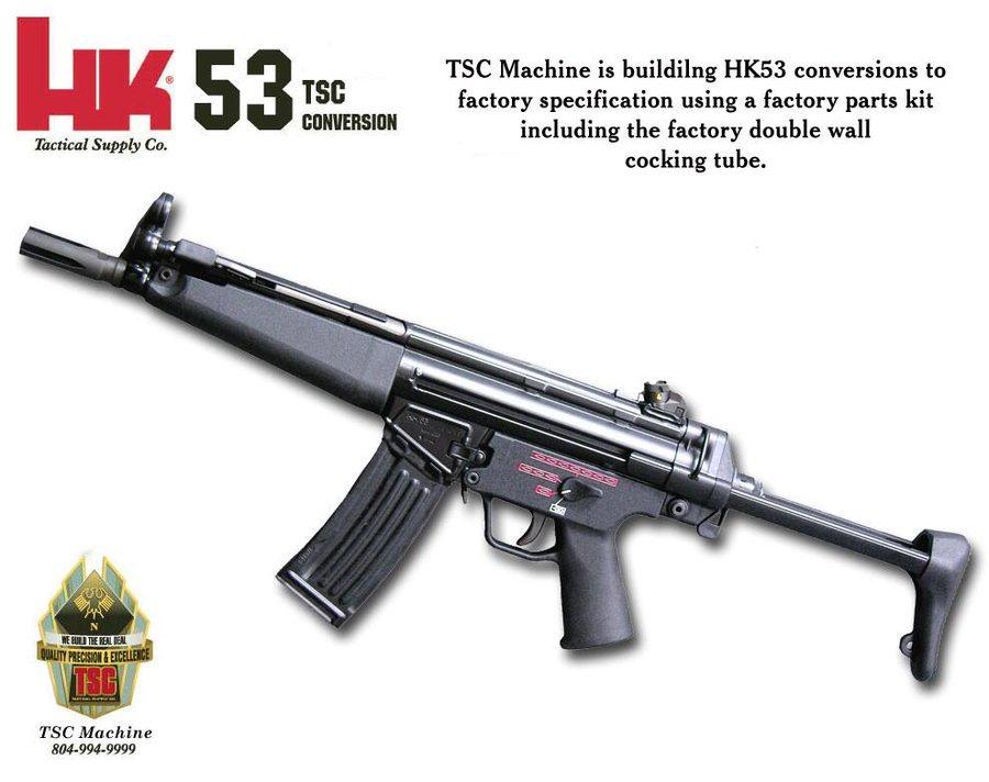 HK53 H&K社が開発したHK33の短縮...