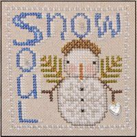 Snow Soul is the title of this cross stitch pattern from Hinzeit tha features a wonderful snowman and the pattern includes 2 beads and one c...