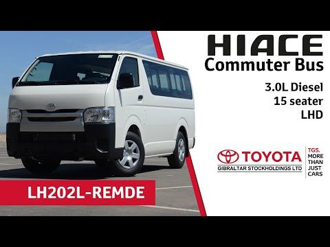 Toyota Hiace Commuter Bus 3 0l Diesel 15 Seater Lhd Youtube Toyota Hiace Toyota Diesel